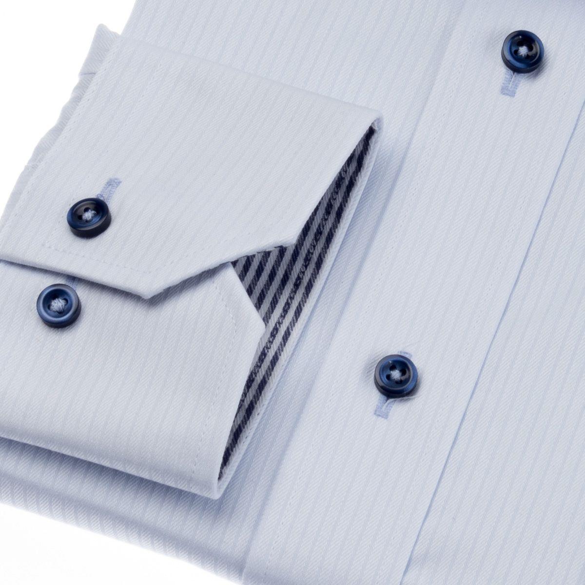形態安定・吸水速乾・UVカット・抗菌防臭・吸水防汚 セミワイド ワイシャツ 長袖 【MODE ISM】