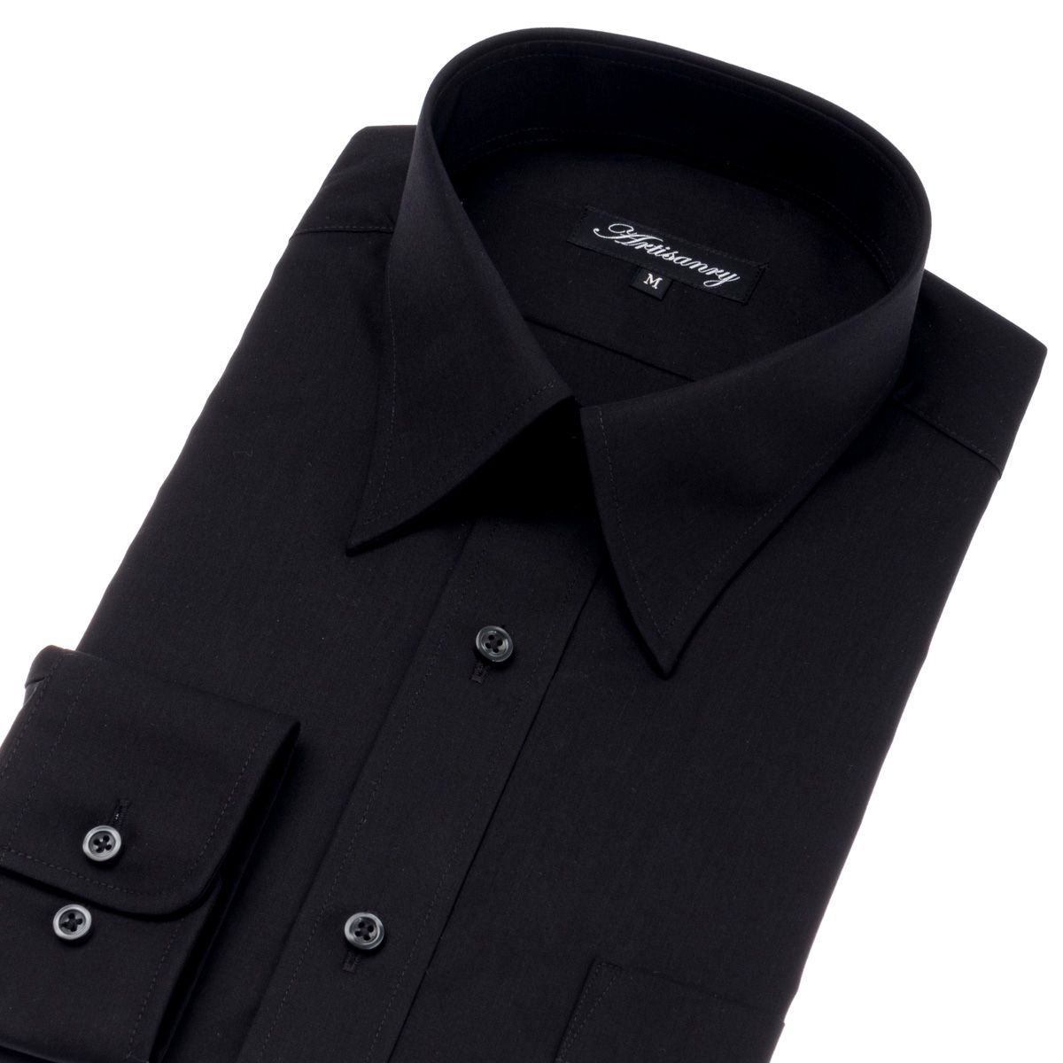イージーケア レギュラーカラー ワイシャツ 長袖 【Artisanry】