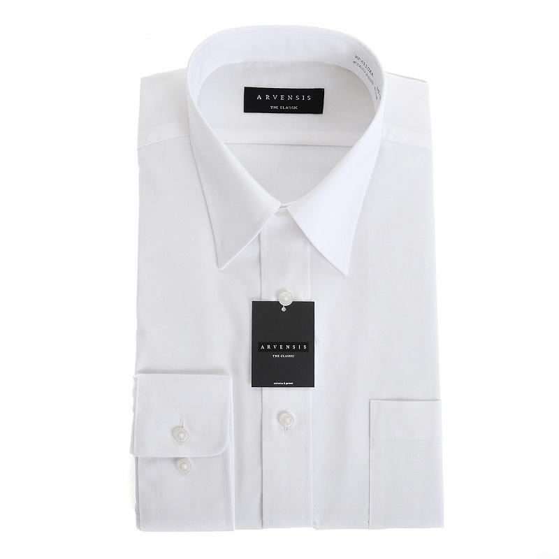 定番白シャツ3枚セット 形態安定 レギュラーカラー ワイシャツ 長袖