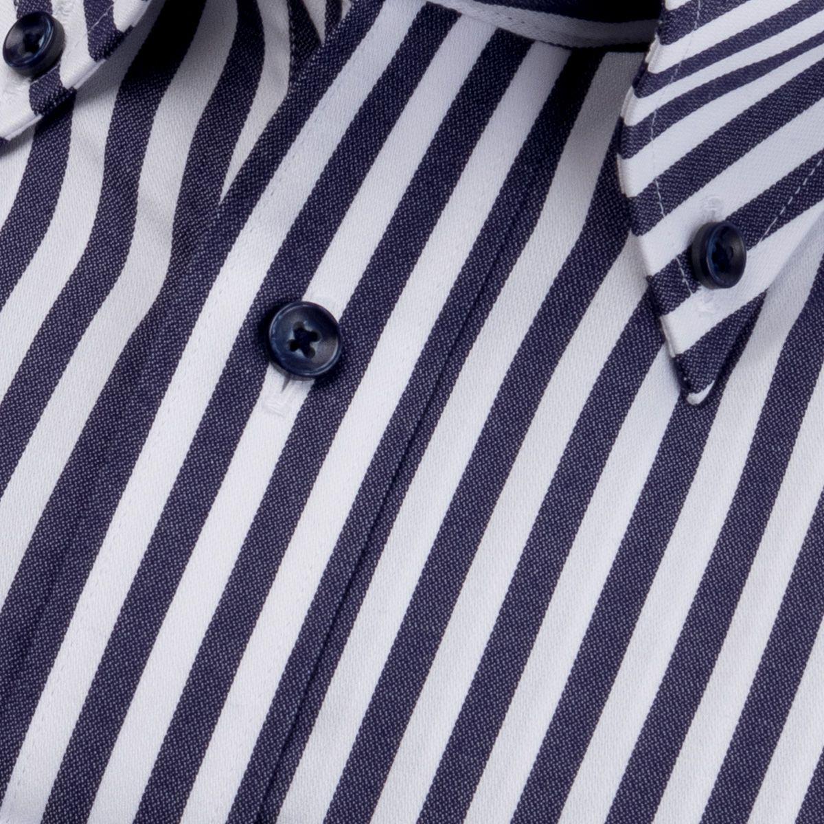 ピタッポ・形態安定 ボタンダウン ワイシャツ 長袖 【altblow classic】