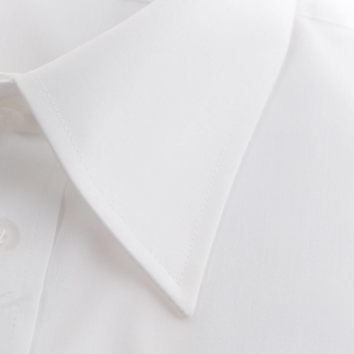 形態安定 レギュラーカラー ワイシャツ 長袖 【LADE ASTON】