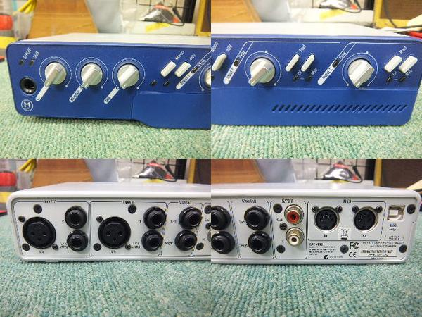 u25457 デジデザイン M BOX2 オーディオ インターフェイス 中古