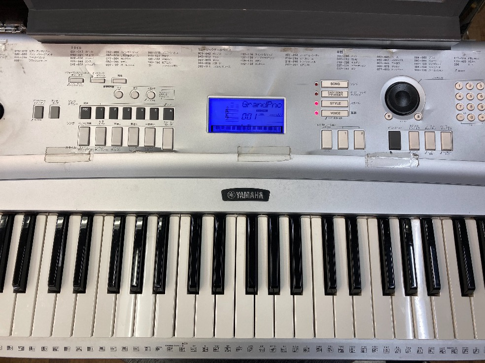 u45764 YAMAHA [DGX-220] 76鍵盤 中古 キーボード 動作ok 使用感あり