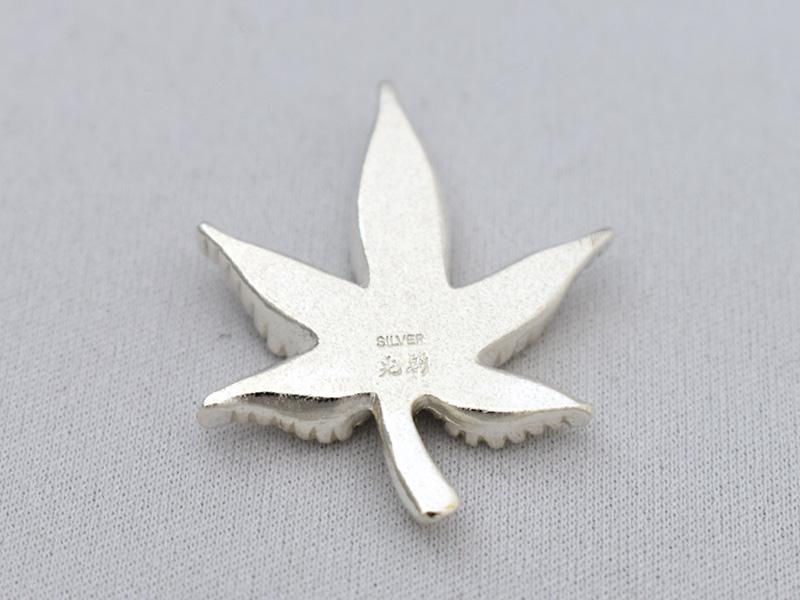 銀製 箸置き <紅葉>