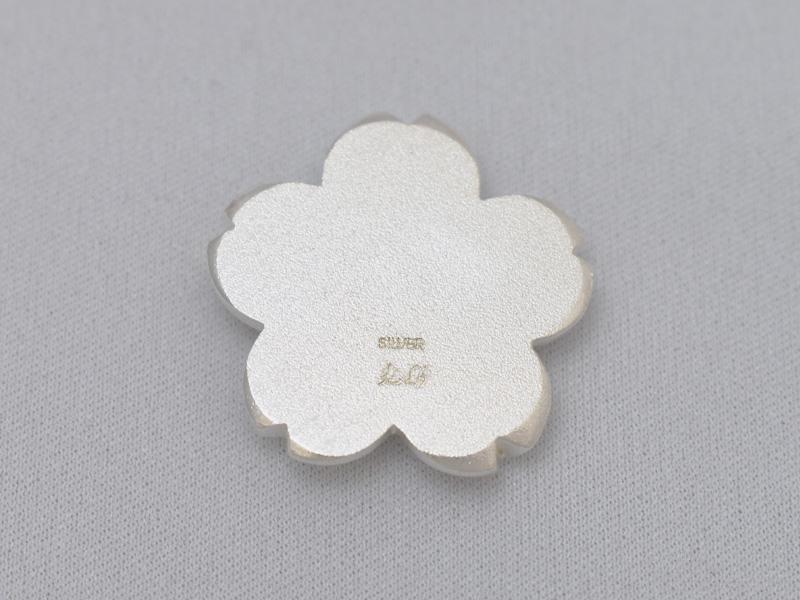 銀製 箸置き <桜>