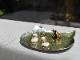 純銀製 豆皿 -ねこ-