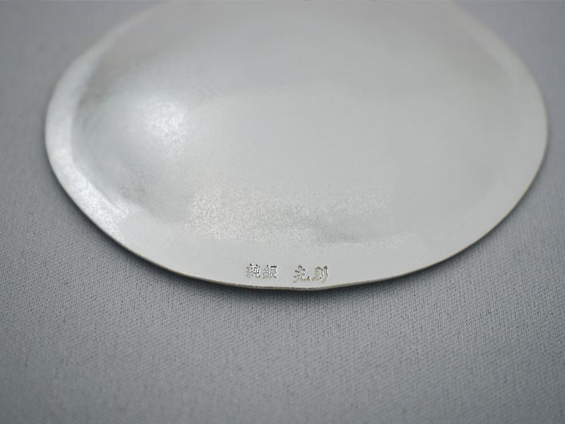 純銀製 豆皿 -ひょうたん-
