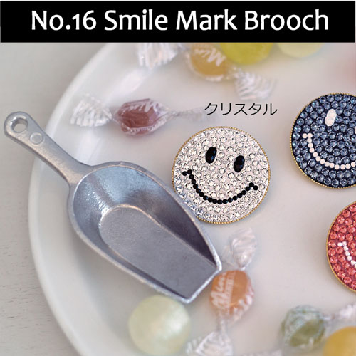 16Smile Mark Brooch本キット「はじめてのグルーデコ」