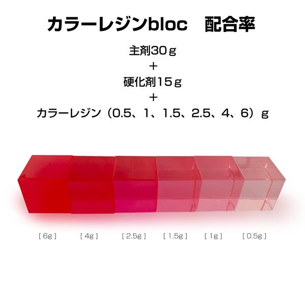 wResin(ダブルレジン) マゼンタ(赤紫)