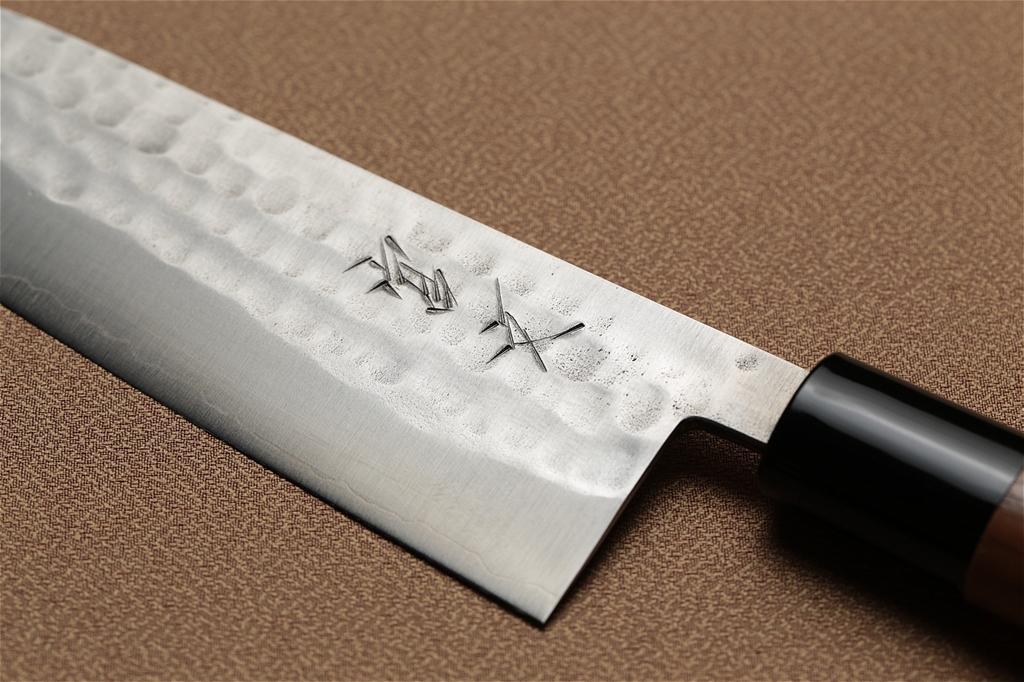 宮文 鎚目ゴールド菜切 三徳型