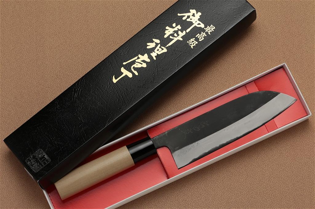 宮文 地型白紙菜切 三徳型