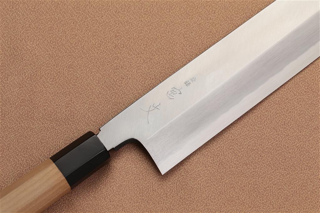 宮文 霞青鋼 薄刃210mm