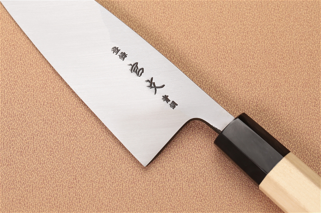 宮文 霞青鋼出刃165mm