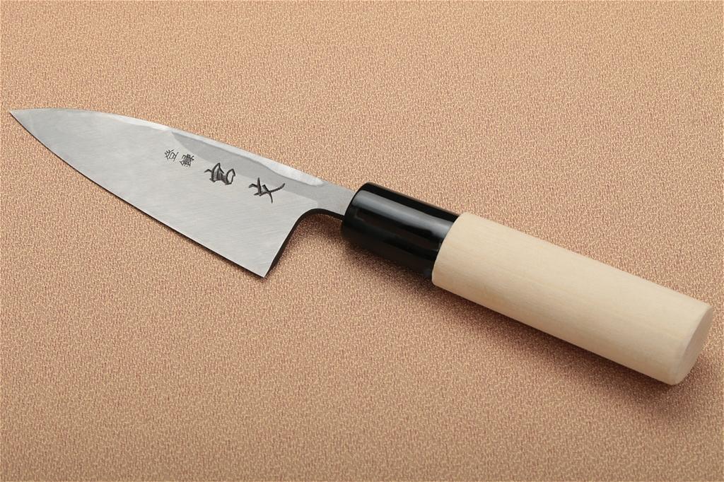 宮文 白紙出刃90mm