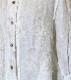 後ろボックスと襟の工夫が嬉しい 浮きウキ刺繍 Wガーゼブラウス