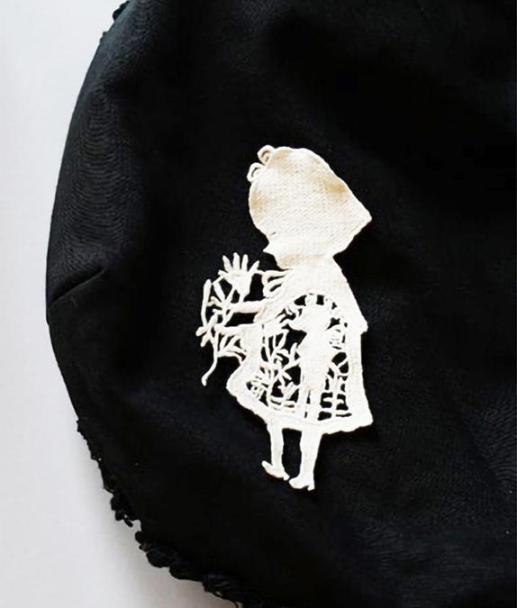 モチーフ 女の子1(中国製)