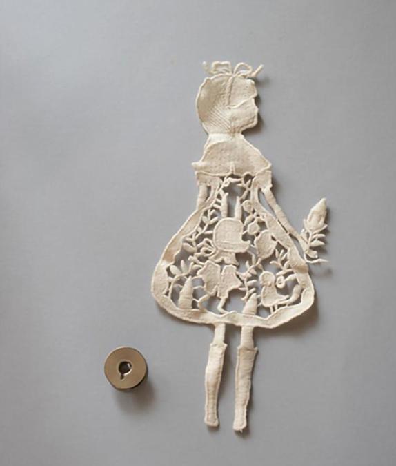 モチーフ 女の子2  Lサイズ(中国製)