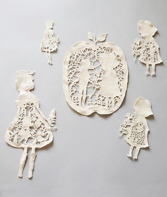モチーフ5種各1枚(中国製)