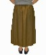 草花刺しゅうスカート