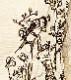 親指姫刺繍のブラウス