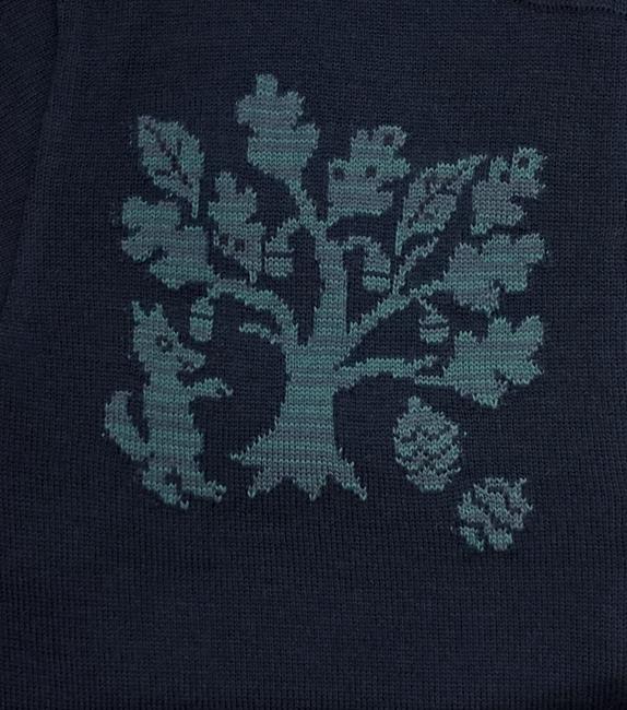 TREE柄のカーディガン