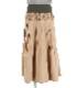 メモリータフタのプリーツスカート
