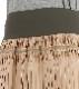 二手間かけたメモリータフタの軽量・撥水プリーツスカート