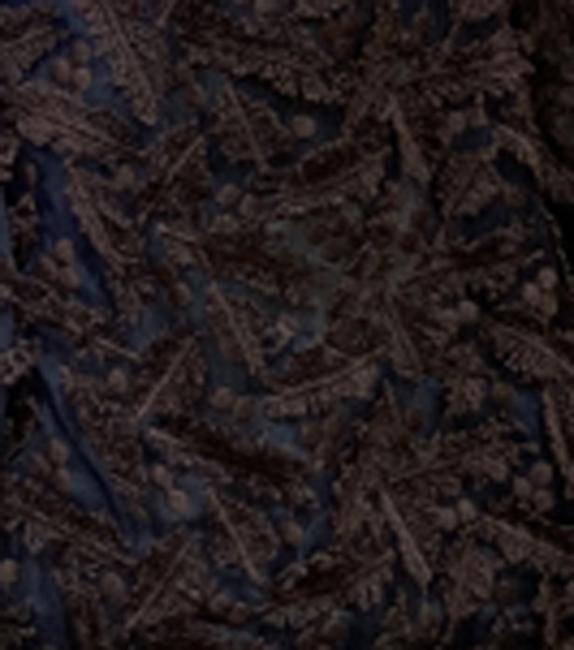 雪ミモザ刺繍のベスト