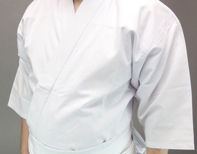 徳用おくみ付ポリエステル居合道衣※黒2.3.4号完売
