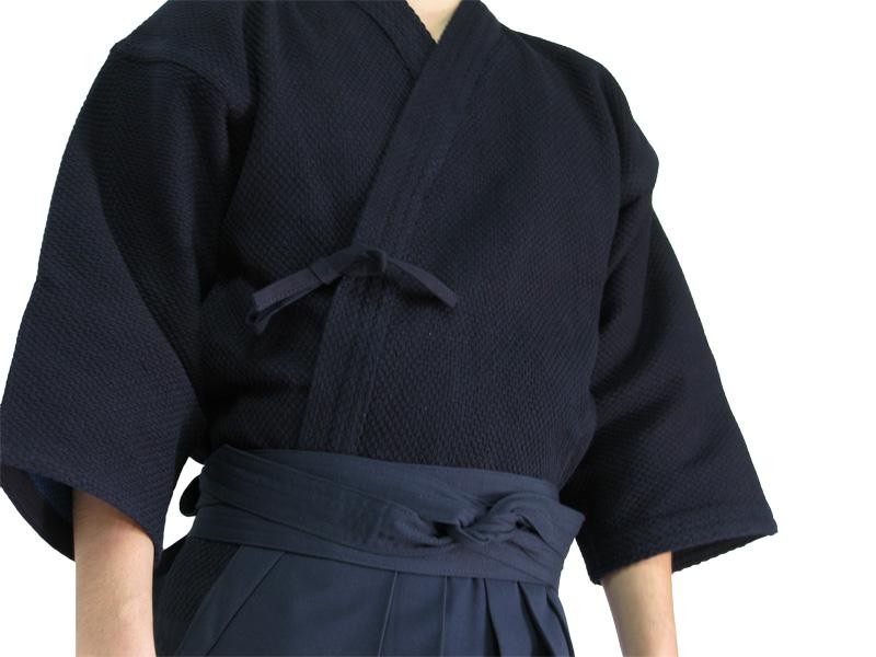 正藍染一重剣道着+正藍染7000番綿袴 【剣道着 剣道具 】