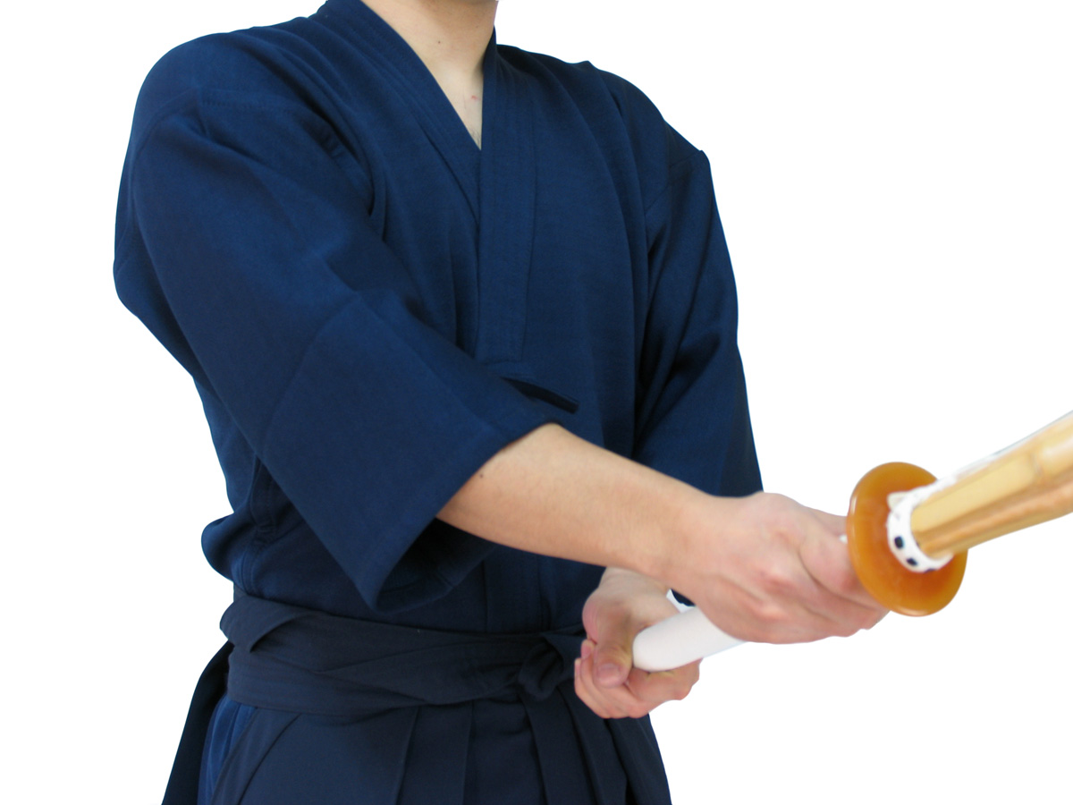 ジャージ剣道着+特製ポリエステル剣道袴セット