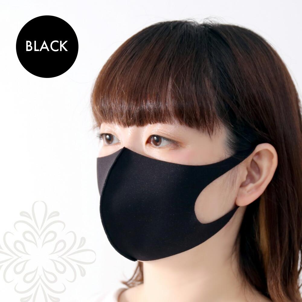 ウォッシャブル マスク 耳が痛くなりにくい 息がしやすい 伸縮性 抜群 3サイズ 1枚入り ホワイト ブラック グレー イヤーカフ