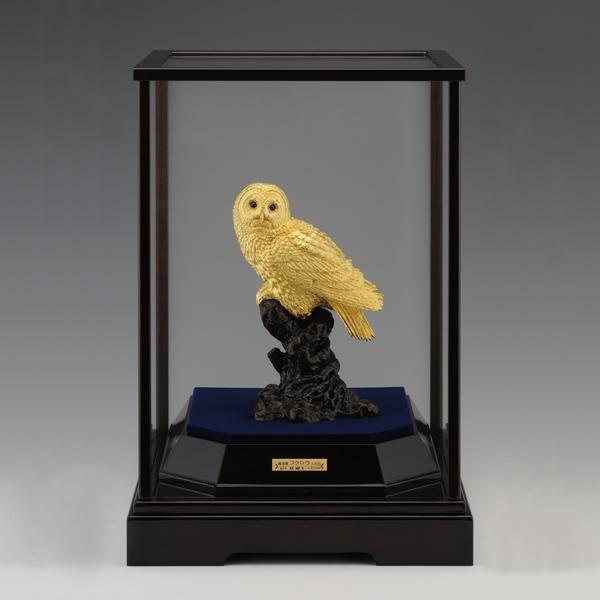 純金 フクロウ