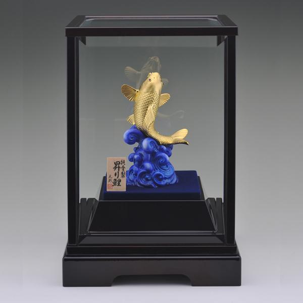 純金 昇鯉(一匹)