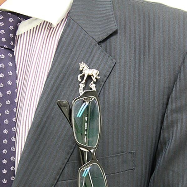 眼鏡ホルダー馬