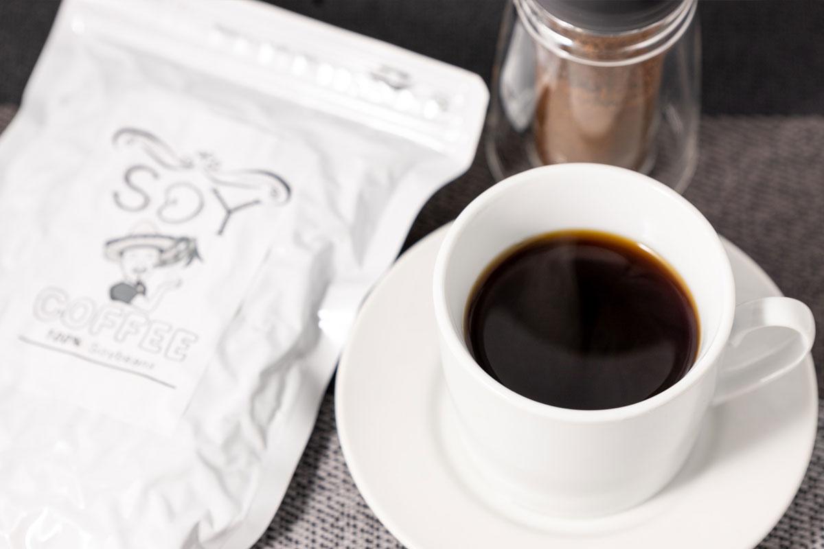みやむーの大豆コーヒー。
