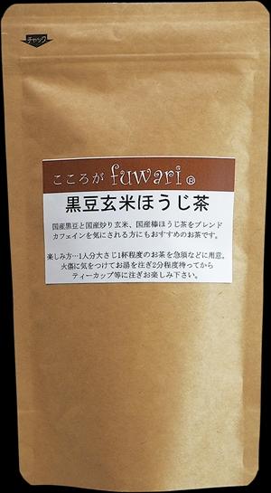 こころがfuwari 黒豆玄米ほうじ茶 100g