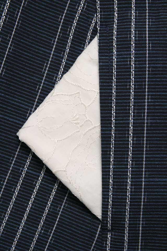 ロングブラウス [らしか 雪寄草] 全3色 綿100%