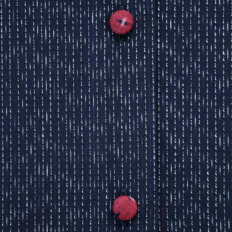 ブラウス [彩藍 文人ブラウス] 全2色 綿100%