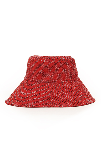 帽子 [彩藍 纏] リバーシブル 綿100%