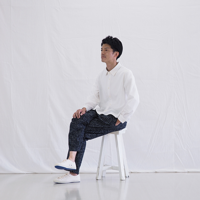 イージーパンツ [ukigumo 浮雲] ブラック M/L 綿100% 男女兼用