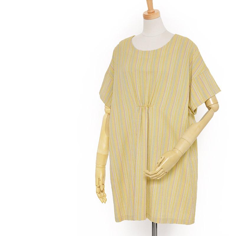 チュニックブラウス [ことん 黄釣船] 全4色 綿100% 夏向け