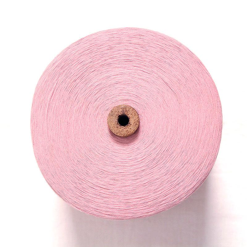 織り糸 [和木綿 ピンク] 太巻 約900g程度 40/2