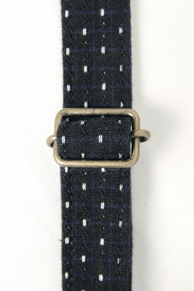 ショルダーバッグ [彩藍 フリンジ] 全3色 綿100%
