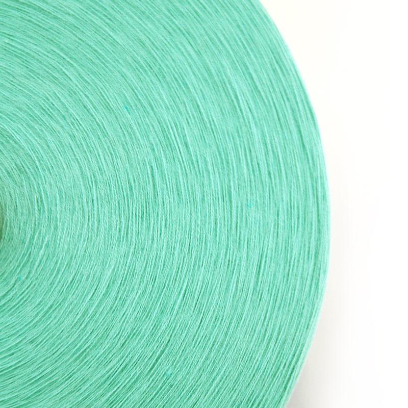 織り糸 [和木綿 グリーン] 太巻 約900g程度 40/2