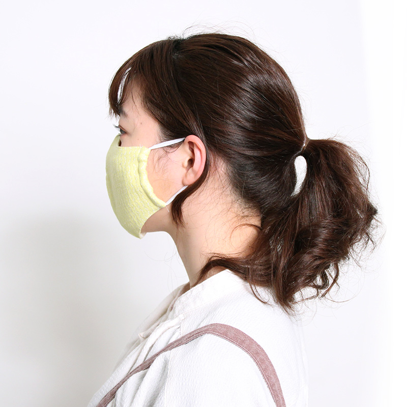 布マスク [ガーゼ zigzag] 全3色 ※1サイズのみ