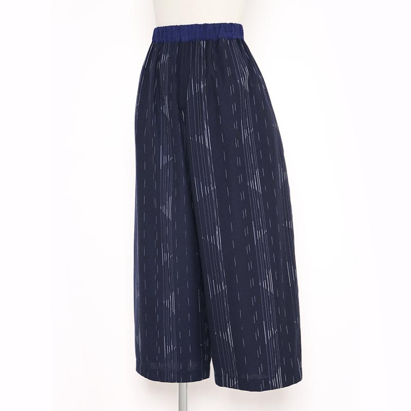 パンツ [彩藍 帆風] 全2色 綿100%