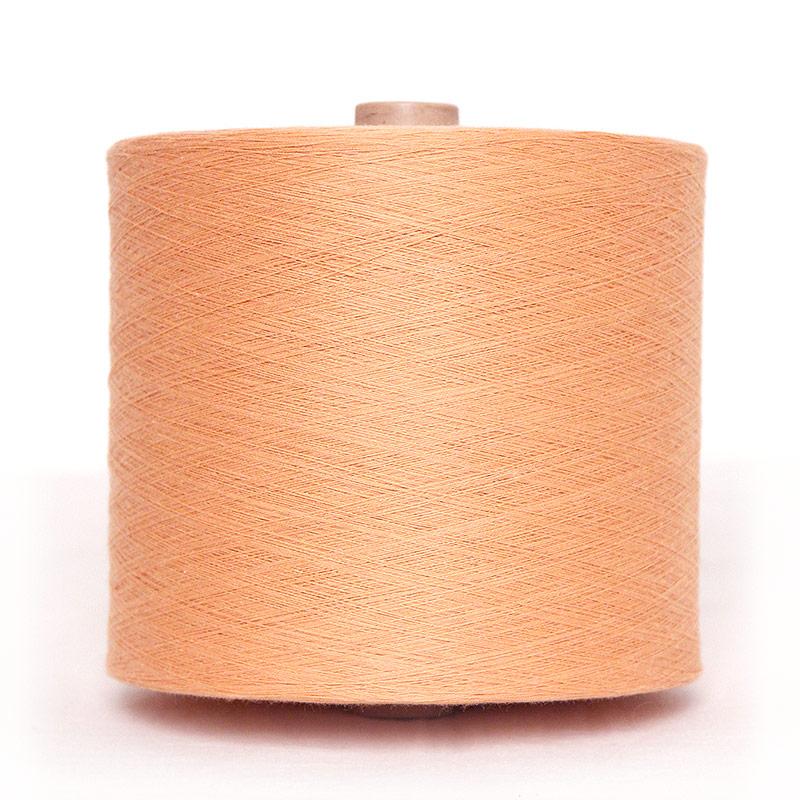 織り糸 [和木綿 薄橙(うすだいだい)] 中巻 約750g程度 40/2