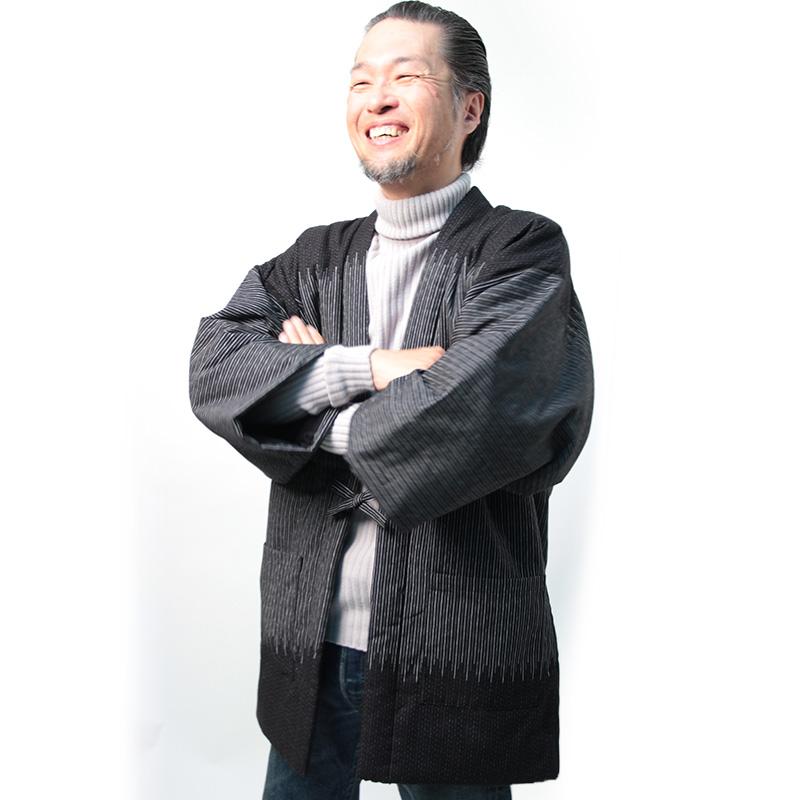 半纏 [夜空袢天] 全2色 第16回福岡デザインアワード入賞作品 [TV] TBSテレビ「4分間のマリーゴールド」着用商品