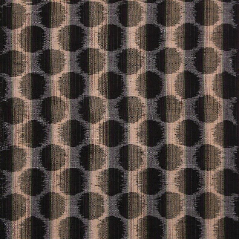 久留米絣反物 [ドット柄/ブラウン] 1メートル単位 切り売り【SG0184】